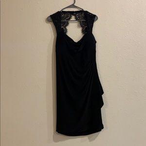 Scarlett Nite Black lace dress